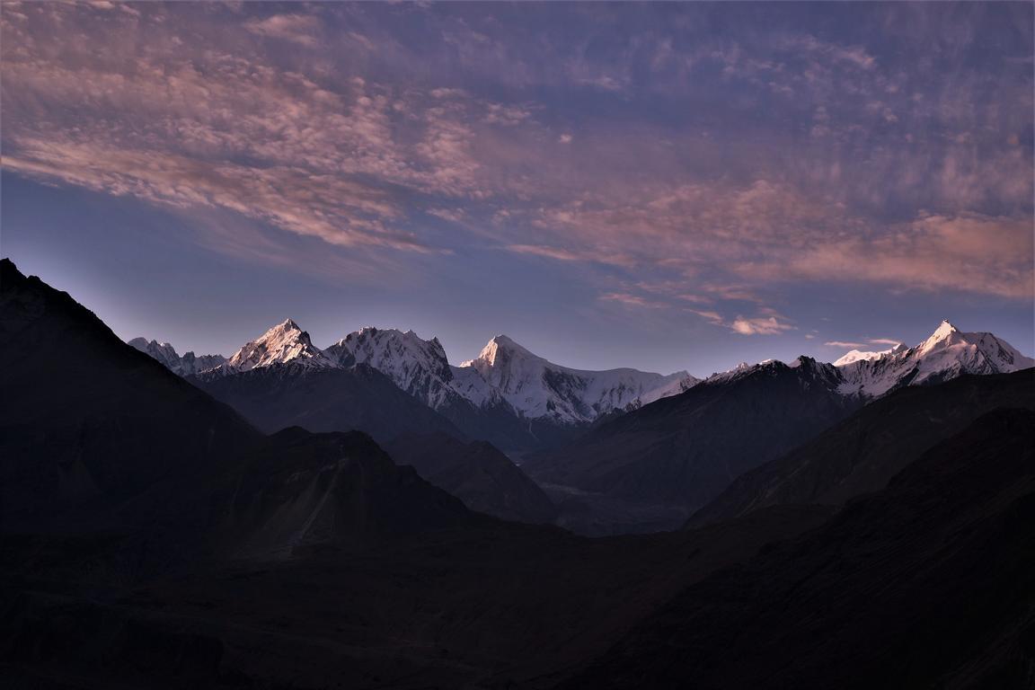 Bergwelt in Pakistan